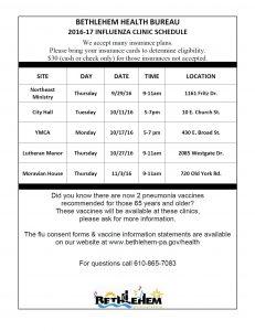 flu-clinic-schedule