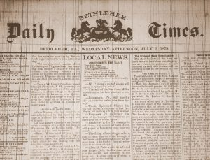 Globe Times - sepia