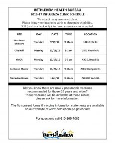 flu-clinic-schedule